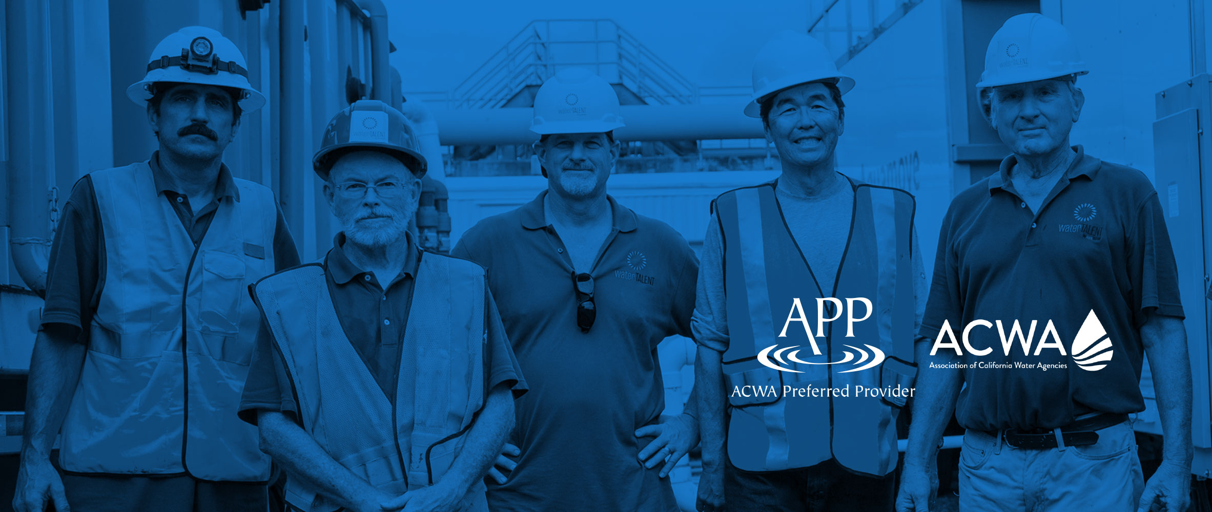 waterTALENT is ACWA's Preferred Provider for Licensed Water Operator Staffing Services